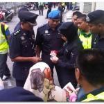 Gambar-gambar sekitar Perhimpunan Bersih 2.0 hari ini..