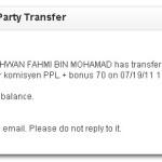 Bayaran dari PPL Pegawaikerajaan.com