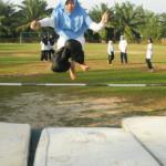 Lompat Tinggi Gaya Fosbury