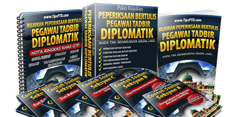 pakej rujukan peperiksaan bertulis pegawai tadbir diplomatik