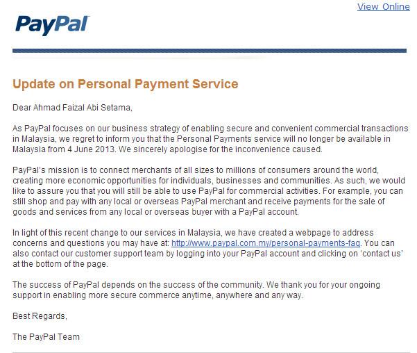 Deposit forex lewat paypal