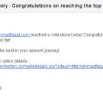 tahniah - ahmadfaizal.com. Olaaa!