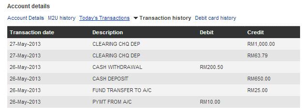 transaksi maybank