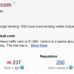 Alexa Rank Malaysia=237.