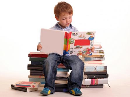 membaca sejak kecil