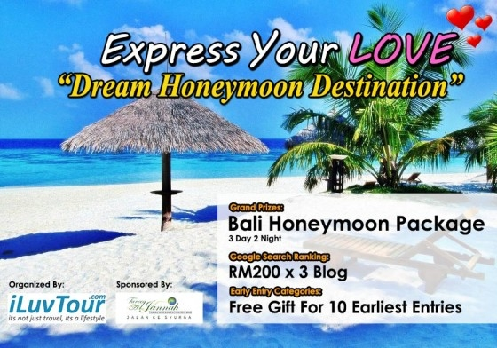 honeymoon package at bali