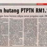 Isu Hutang PTPTN dan CCRIS.