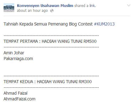 pemenang konvensyen usahawan muslim