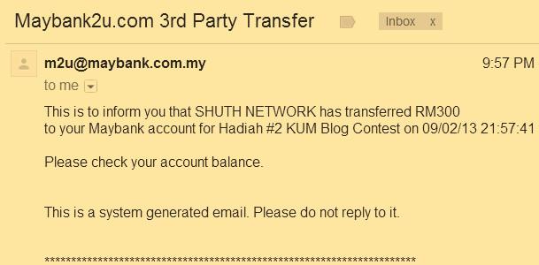 blog contest kum2013 hadiah