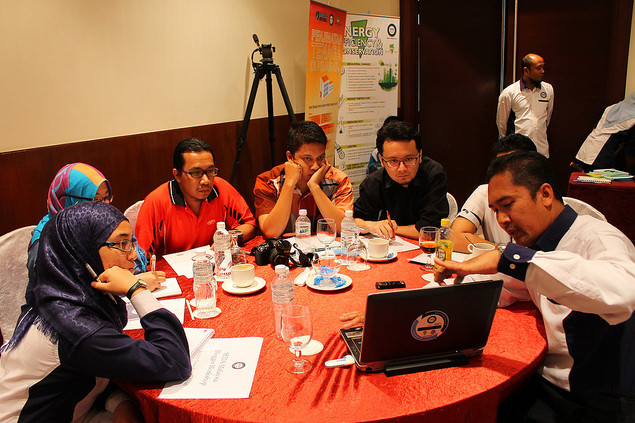 seda malaysia blogger workshop - perbincangan