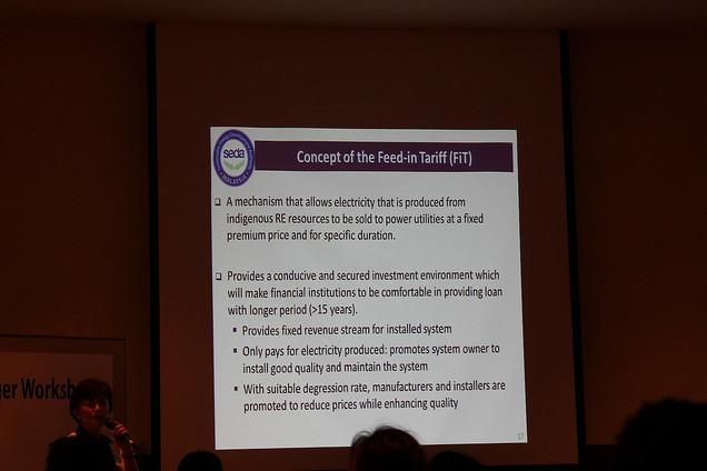 seda malaysia - feed in tariff concept
