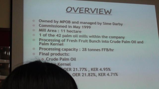 seda malaysia visit site - palm oil mill labu