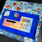 Custom Made Sticker Kereta Doraemon