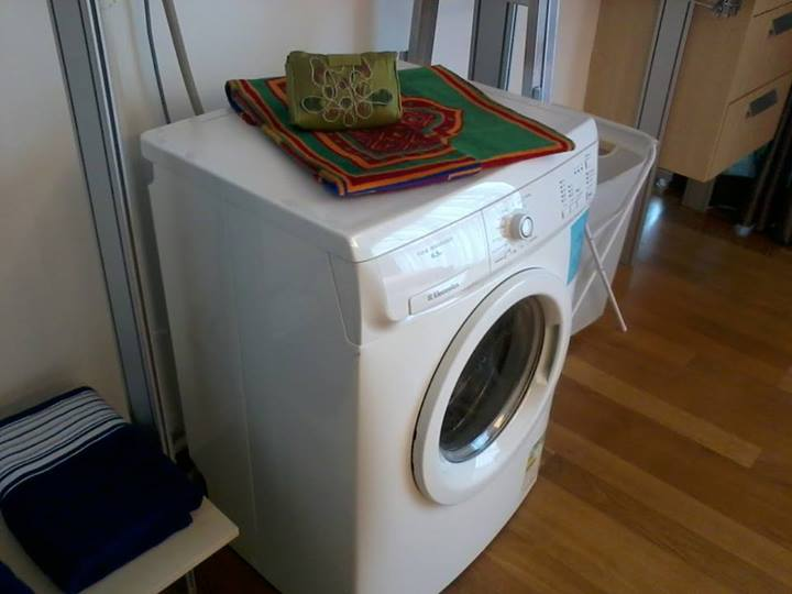 regalia studio homestay mesin basuh