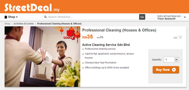 streetdeal - professional cleaning house and office