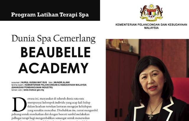 program latihan terapi spa beaubell academy