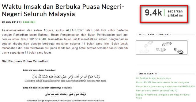 waktu imsak dan berbuka puasa negeri seluruh malaysia