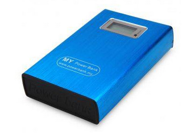 MY Power Bank LED Powerbank 12000mAh Blue