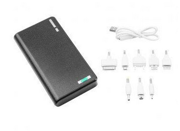 iPower Dual USB Port PowerBank 30000mAh Black
