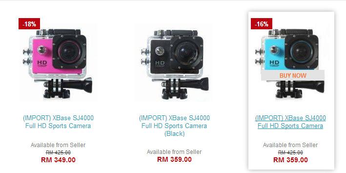 kamera SJ4000 murah