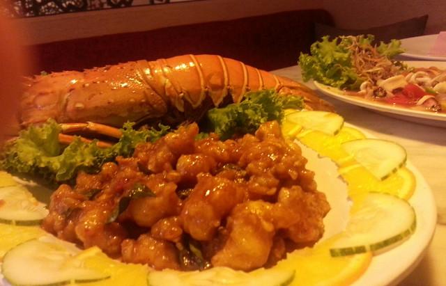 makan lobster boleh gemuk