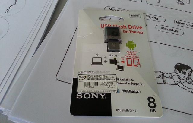 smartphone pendrive sony 8gb