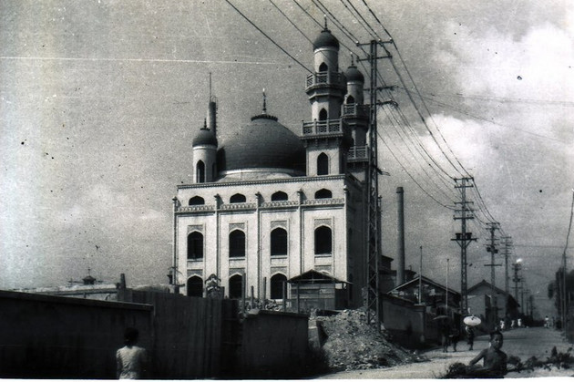 Gambar Masjid Kobe yang dibina pada tahun 1928