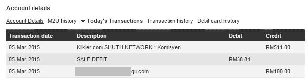 bayaran klikjer feb 2015
