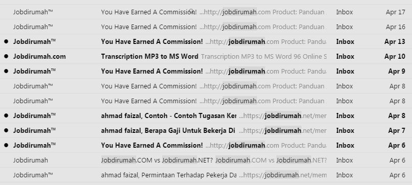 Komisen Jobdirumah - APRIL 2015
