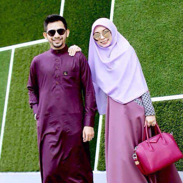 Jubah Slim Fit Couple