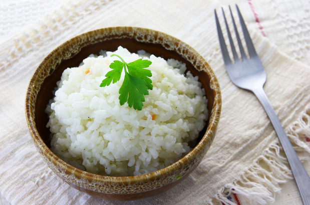 the power of white rice