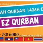 Ibadah Qurban dan Aqiqah kini lebih MUDAH dengan EZ Qurban