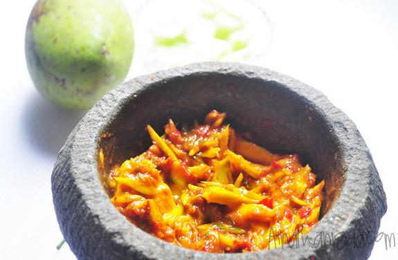 sambal belacan mangga sedap
