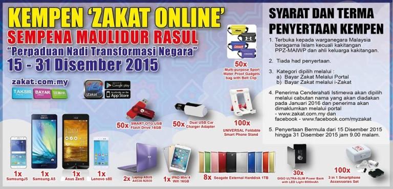 Kempen Bayar Zakat Online 2015