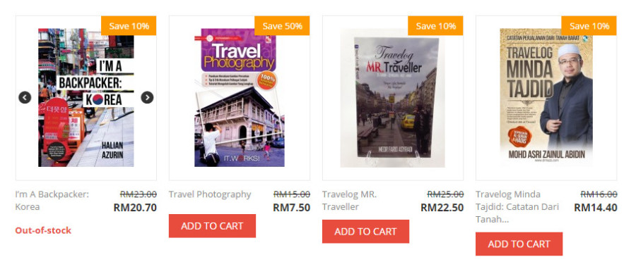 buku travel murah dan best