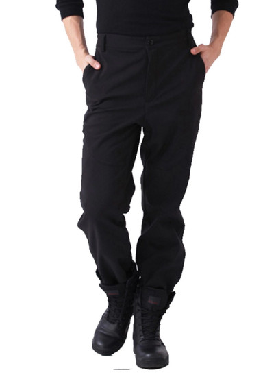 Outdoor Unisex Windproof Military Combat Tactical Cargo Hiking Trousers Pants (Black)