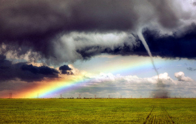 Let the storm rage on the beauiful RAINBOW always come after that.
