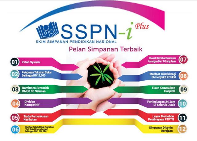 kelebihan dan manfaat SSPN-i PLUS