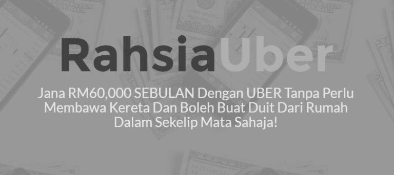 rahsia buat duit dengan uber