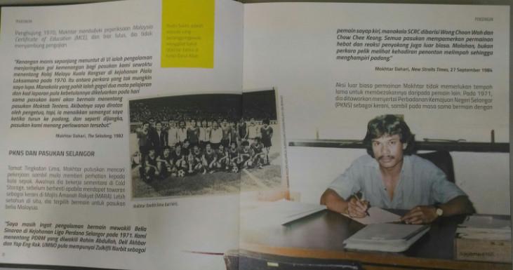 buku mokthar dahari - lagenda bola sepak malaysia