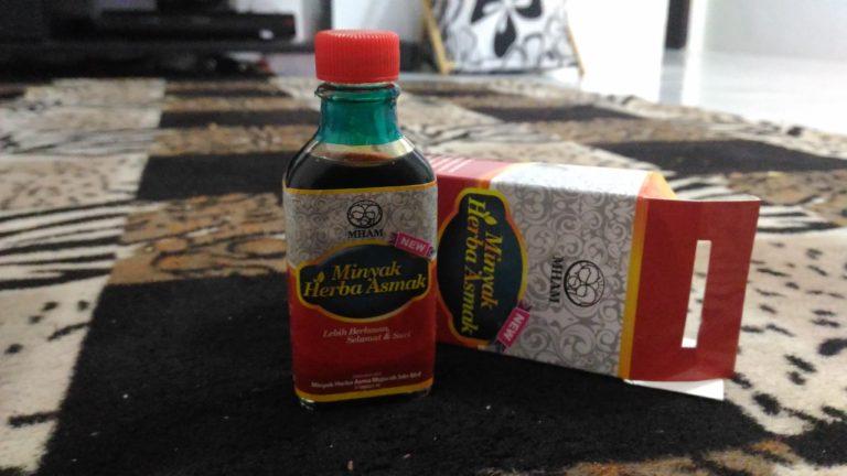 Minyak Herba Asmak Penawar Asma untuk Bayi