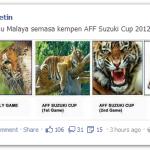 Jangan diusik Harimau Malaya. Padah jawabnya!