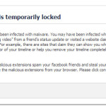 Your account is temporarily locked.