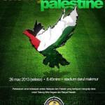 Perlawanan Amal Malaysia vs Palestine – 23 Mac 2013.