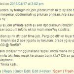 3 Soalan tentang Jobdirumah.