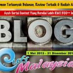 Contest Blog Travel Cuti Malaysia & iGotravel.my
