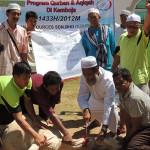 Program Aqiqah Ramadan di Kemboja 2013