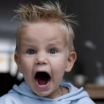 budak kecil marah