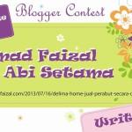 Menang Grand Prize Winner Delima Home Blogger Contest