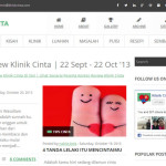 Kontes Review Klinik Cinta